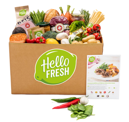 HelloFresh Vegetariska